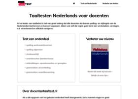 docententaaltest.nl