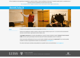 docenti.luiss.it