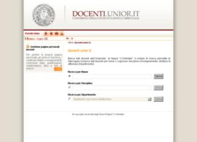 docenti2.unior.it