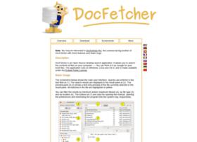 docfetcher.sourceforge.net