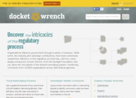 docketwrench.sunlightfoundation.com