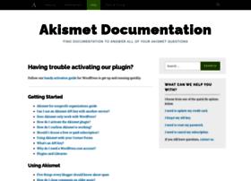 docs.akismet.com