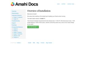 docs.amahi.org