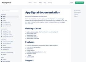 docs.appsignal.com