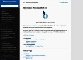 docs.bitshares.org