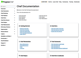 docs.chef.io