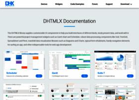 docs.dhtmlx.com