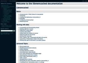 docs.libmemcached.org