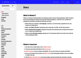 docs.meteor.com