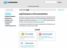 docs.nopcommerce.com