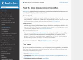 docs.readthedocs.org