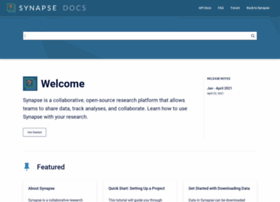docs.synapse.org