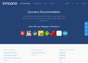 docs.syncano.com
