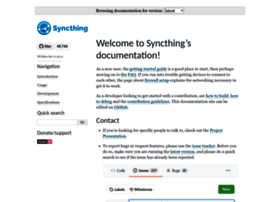 docs.syncthing.net