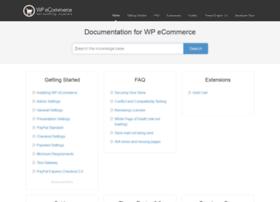 docs.wpecommerce.org