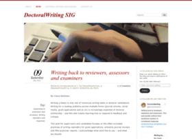 doctoralwriting.wordpress.com