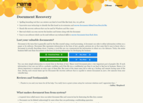 document-recovery.net