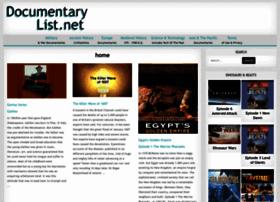 documentarylist.net