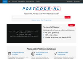 documentatie.postcode.nl