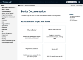 documentation.bonitasoft.com