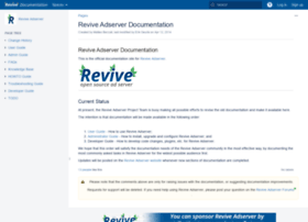 documentation.revive-adserver.com