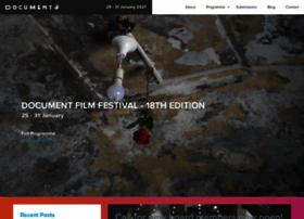 documentfilmfestival.org