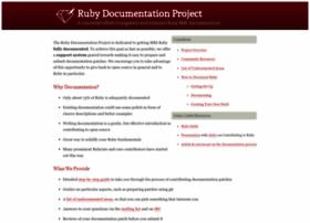 documenting-ruby.org