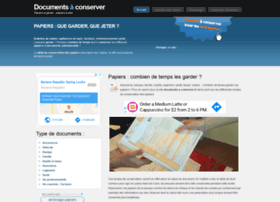 documents-a-conserver.fr