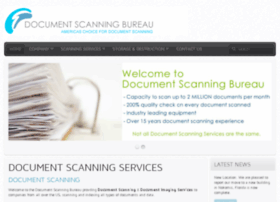 documentscanningbureau.com