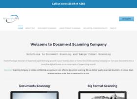 documentscanningcompany.net
