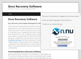docxrecoverysoftware.n.nu