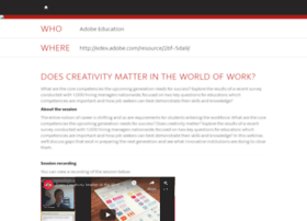 does-creativity-matter.attendease.com