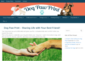 dog-paw-print.com