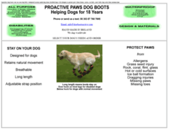 dogbootsactive.com