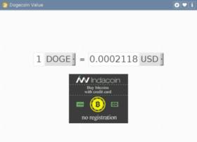 dogecoinvalue.com