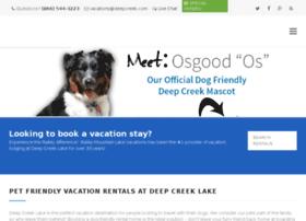 dogfriendlydeepcreek.com