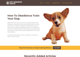 dogobedienceadvice.com