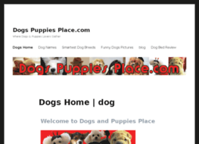 dogspuppiesplace.com