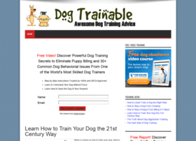 dogtrainable.com