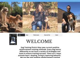 dogtrainingplutosway.com