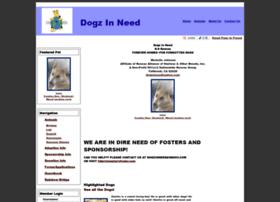 dogzinneed.rescuegroups.org