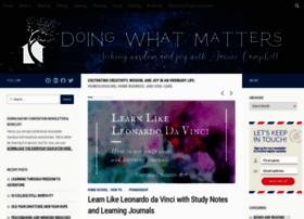 doingwhatmatters.com