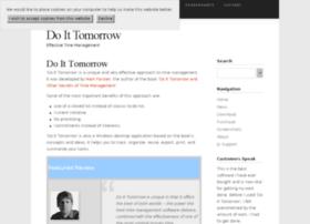 doittomorrow.com
