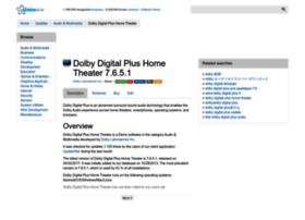 dolby-digital-plus-home-theater.updatestar.com