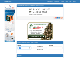 dollars2won.com