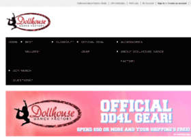 dollhousedancefactorymerch.mybigcommerce.com