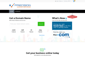 domain-name-registration.precisionlogodesign.com