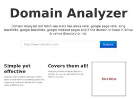 domainanalyzer.org