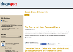 domaincheck.bloggospace.de