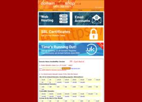 domainnameshop.co.uk